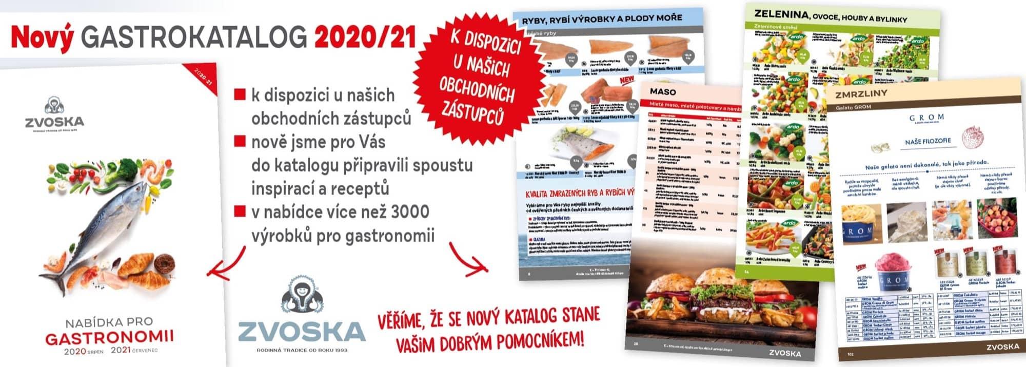 Nabídka pro gastronomii